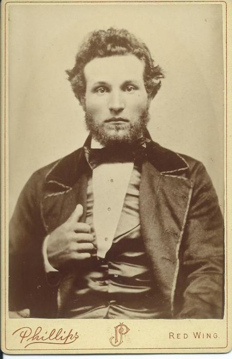 Peter Tilderquist young man