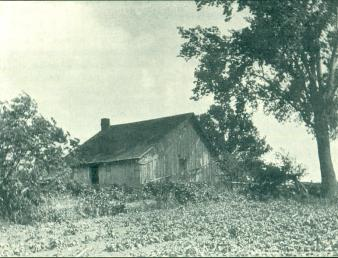 P.O. Tilderquist built this log house in 1860 in Vasa, Minnesota