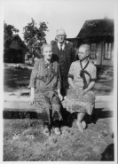 Ida with Josef and his wife Ellen