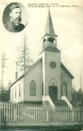 Church postcard from 1900s