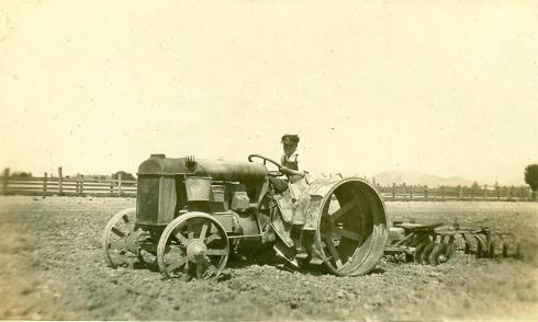 Old tractor-1