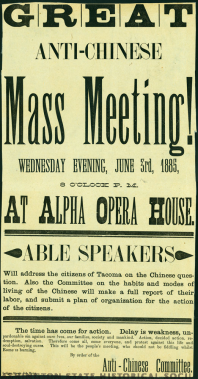 great antichinese mass meeting june 3, 1885