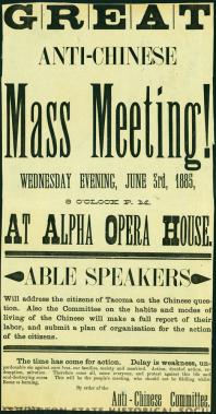 great antichinese mass meeting june 3, 1885